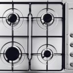 Install Gas hob 4 burner Inc. excluding electric