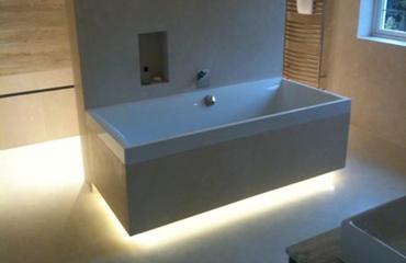 Led Bathroom Plinth Lights install plinth/under/top unit light/per light | ml building direct