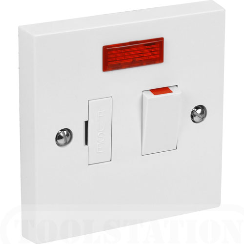 Provide 13a Switch Amp Outlet For Electric Radiator Towel