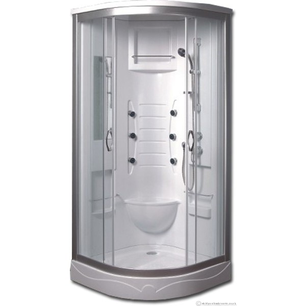 Fresh Install corner or free standing jet shower cabin | ML Building Direct SS75